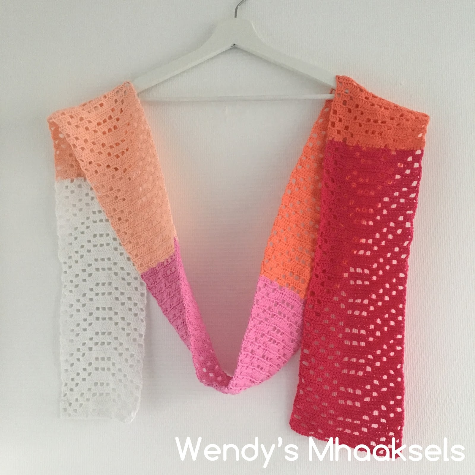 Zomersjaal Summerscarf Wendys Mhaaksels