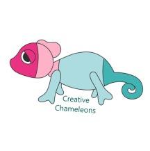 Creative Chameleons Logo Recht